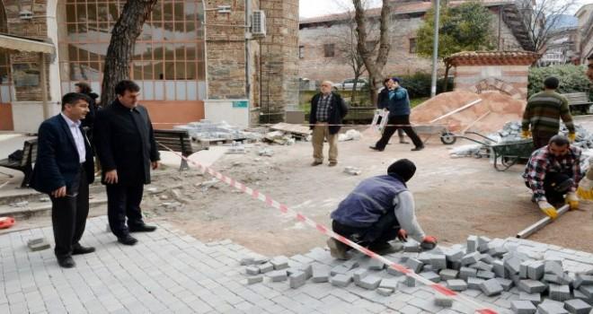 Abdal Camii Çevresi Yenileniyor