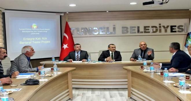 Katı Atık Yönetim Birliği Başkanlığı Toplantısı Yapıldı.