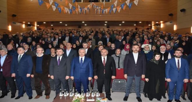 AK Parti Düzce  İl Danışma Toplantısı Kültür Merkezi'nde gerçekleştirildi.