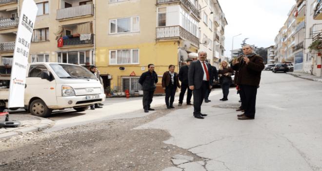 Başkan Türkyılmaz'dan altyapı isyanı