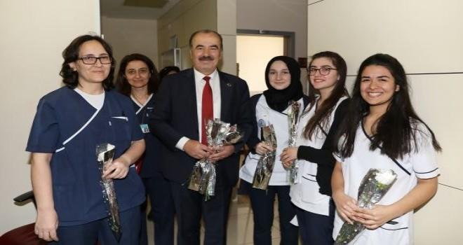 Başkan Türkyılmaz'dan  14 Mart Tıp Bayramı kutlaması