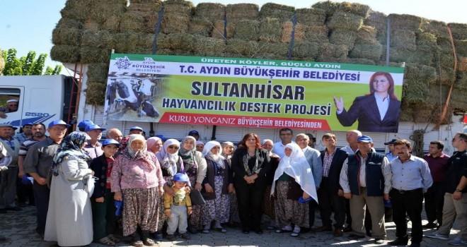 Büyükşehir Belediye Başkanı Özlem Çerçioğlu'ndan çiftçiye destek