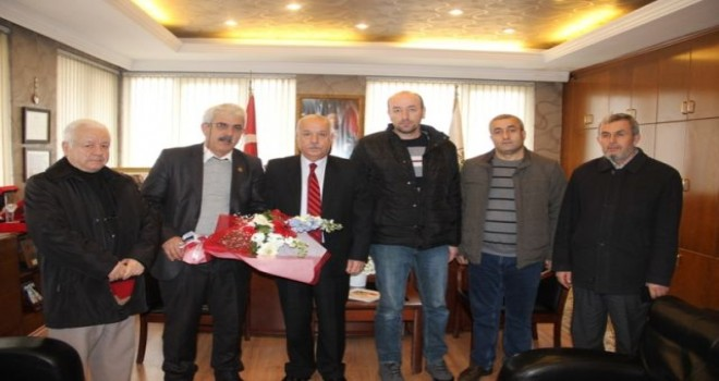 Başkan Akdemir'e İnağzı Mahallesi sakinlerinden ziyaret.
