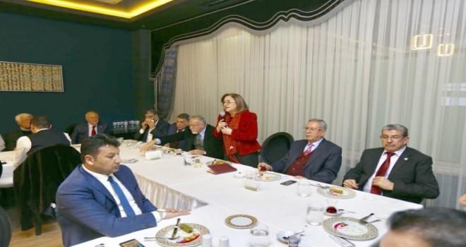 Başkan Şahin ,4 yıllık  çalışmalarını  anlattı.