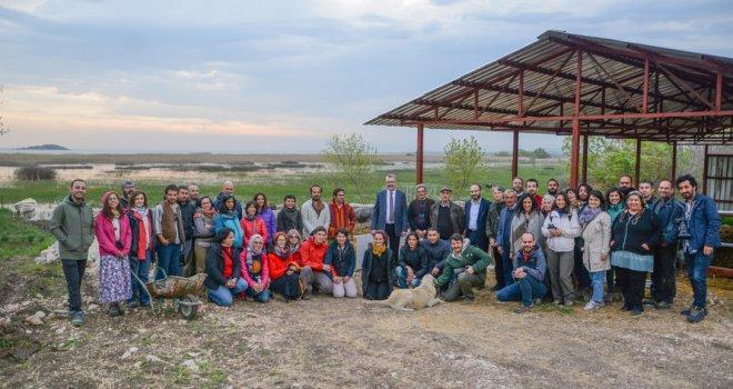 Leylek Köyü Eskikaraağaç 'Çıraklık Buluşması'na ev sahipliği yaptı