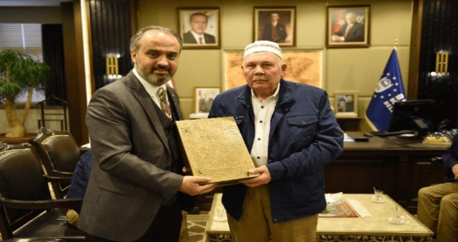 Bursa Huzurevi sakinlerinin Umre heyecanı