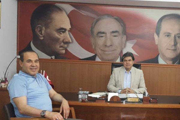 Başkan Sözlü'den, MHP Adana İl Başkanı  Avcı'ya Ziyaret