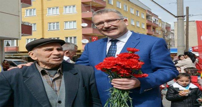 """Ali Özkan: """"Yaşlılar toplumun rehberidir"""""""