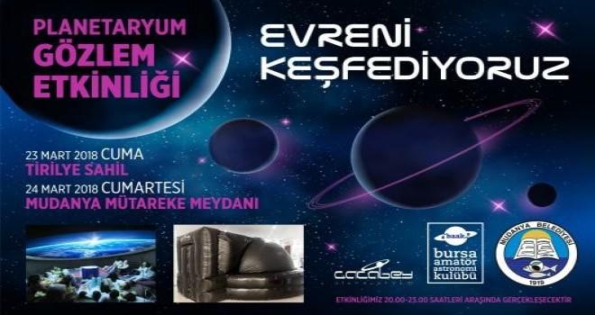 Gökyüzü tutkunları Mudanya'da buluşuyor