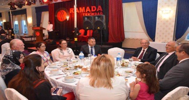 Başkan Albayrak Şehit ve Gazi Aileleri İle İftarda Bir Araya Geldi
