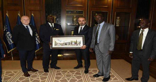 Bursa ile Arua arasında iyi niyet anlaşması