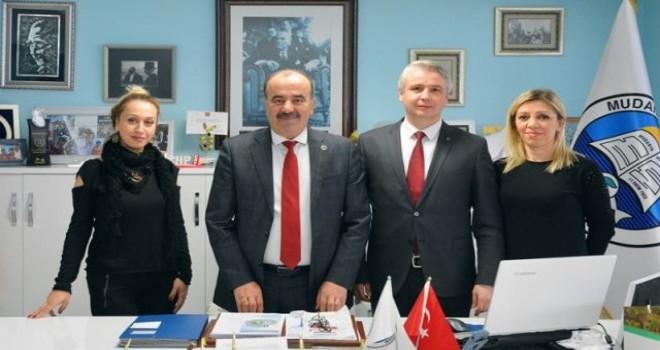 Okul yönetimlerinden  Başkan Türkyılmaz'a teşekkür ziyaretleri