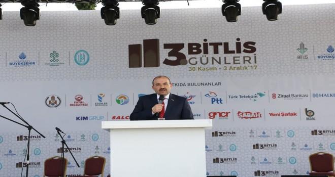 İstanbul'da Bitlis tanıtım günleri başladı