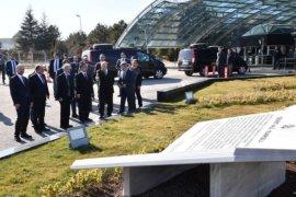 Başkan  Tuna Gölbaşı Kent Meydanı imza törenine  katıldı.
