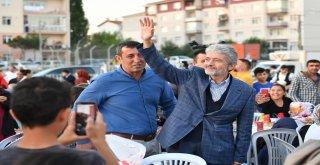 Başkan Tuna Vatandaşlar İftar Sofralarında buluşuyor