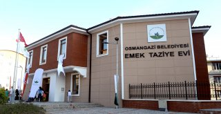 Emek Taziye Evi Hizmete Açıldı