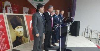CHP SENDİKA ZİYARETLERİ DEVAM EDİYOR.