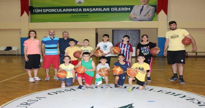 Osmangazide Yaz Spor Okulları Başladı