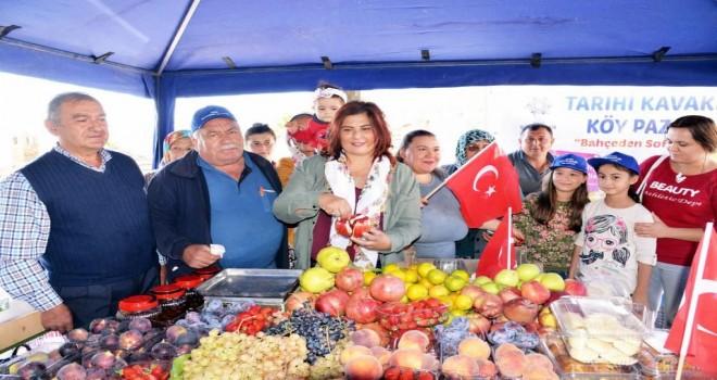 Tarihi Kavaklı Köy Pazarı Açıldı
