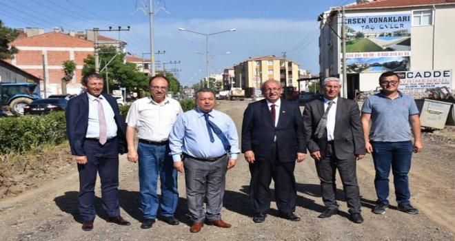 Şarköy'deki Yatırımlar İncelendi