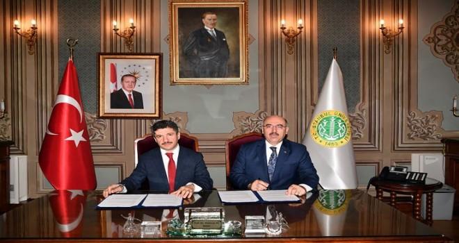 İstanbul Büyükşehir  protokol imzaladı.