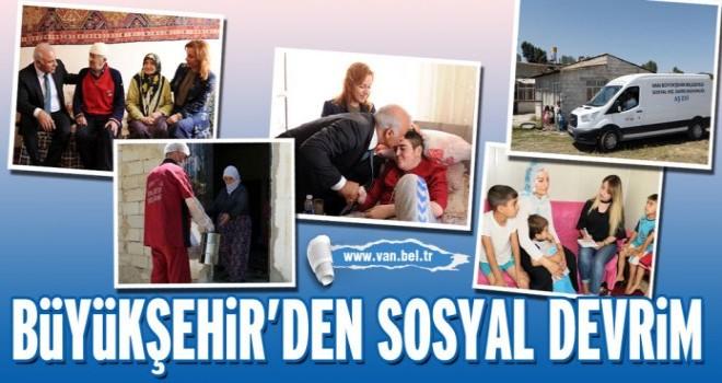 Van Büyükşehir'den  sosyal devrim