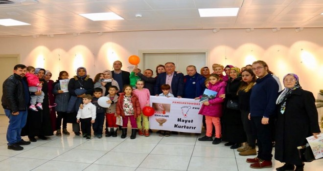 Başkan Salman Fenilketonüri Hastalarını Unutmadı