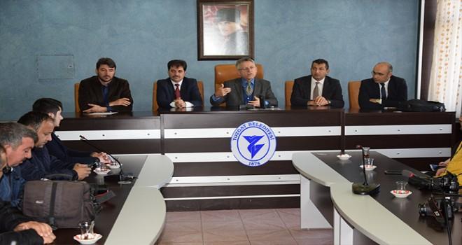 Başkan Dr. Kazım Arslan'dan,şebeke suyu açıklaması