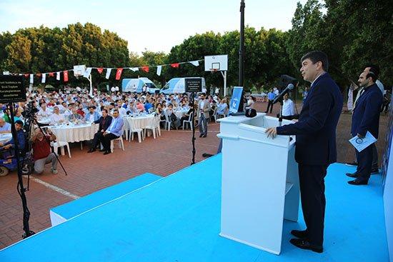 Başkan Türel Memur-Sen üyeleriyle iftar yaptı