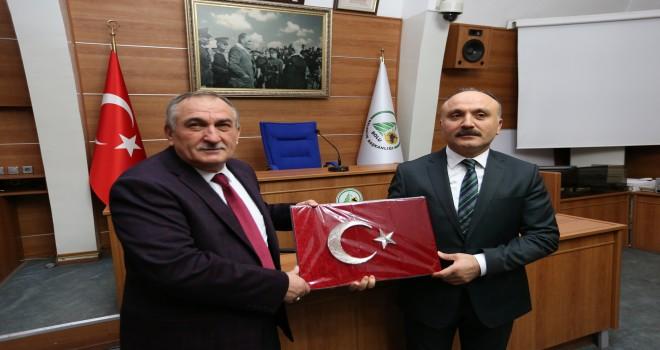 Marka Genel Sekreteri Mustafa Çöpoğlu'ndan Yılmaz'a ziyaret