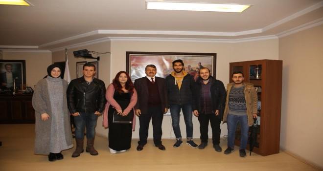 Sosyal Sorumluluk Topluluğu'ndan Başkan Akın'a ziyaret