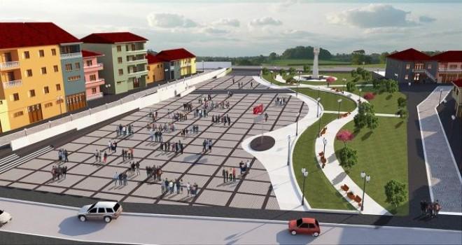 Doğanşehir'e 8 bin metrekarelik meydan