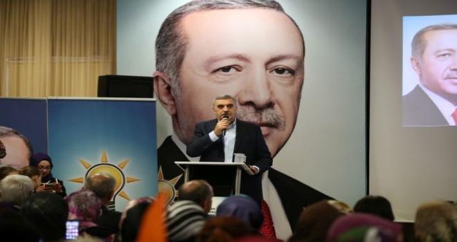 Başkan Toçoğlu, 'Yeni Türkiye'nin mimarı kadınlar olacak'