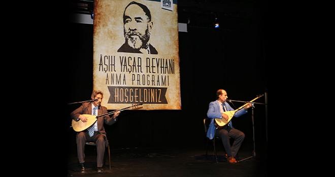 Erzurum Büyükşehir Belediyesi, Âşık Yaşar Reyhani'yi vefatının 11. yıldönümünde andı.