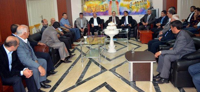 Diyarbakır İl Başkanı Altaç'dan bayram ziyareti