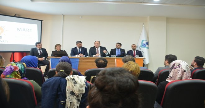 AK Parti Eskişehir İl Başkanı Mart ayı Sivrihisar Danışma Meclisi