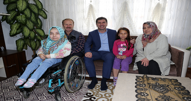 Başkan Ercengiz, Tuğçe için çalışma başlattı