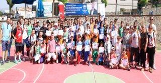 Mudanya'da Sokak Basketbolu Heyecanı.