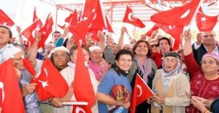 Alamut Halkı Başkan Çerçioğlu'na teşekkür etti.